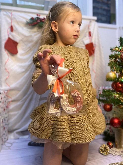 рождественский сувенир украшение на ёлку пряники