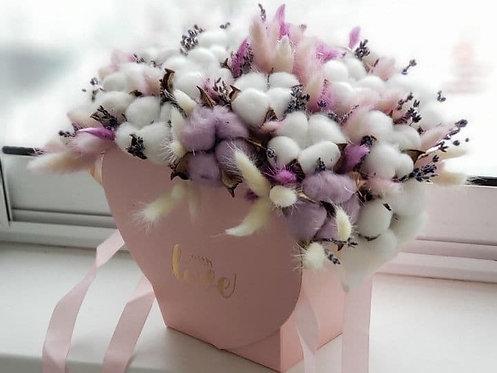 цветы сухоцветов хлопка