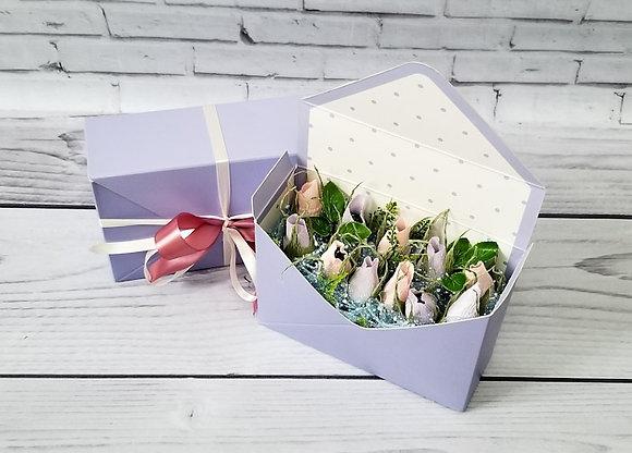 Конвертик с цветами роз. Москва