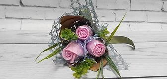"""Букет из мыла """"Бутоны роз"""""""
