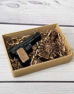 """Набор из мыла """"Пистолет и Коньяк"""""""