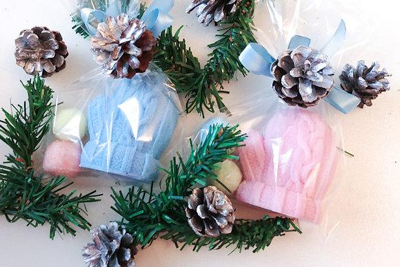 сахарные скрабики и мыло варежка новогодний сувенир