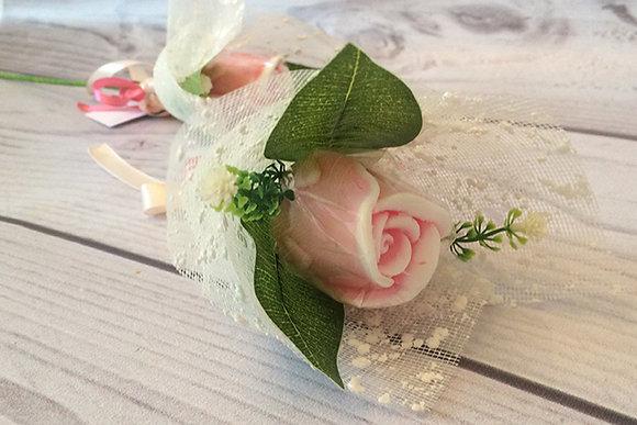 Букеты из мыла ручной работы, в наличии и на заказ, оригинальный подарок на праздник, цветок бутон розы, роза