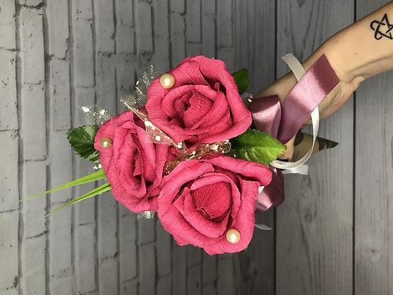 """Мини-букет с конфетами """"Розы"""""""