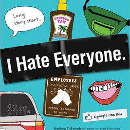 I Hate Everyone Book