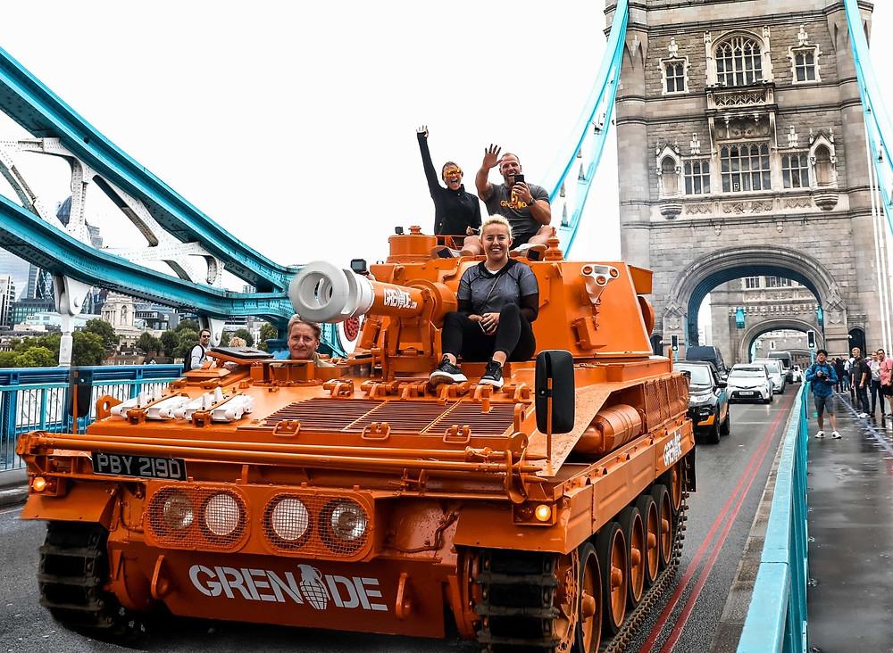 Grenade Tank