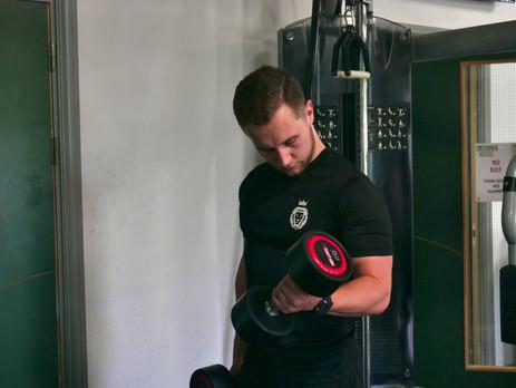 Black IOTK Gym Top