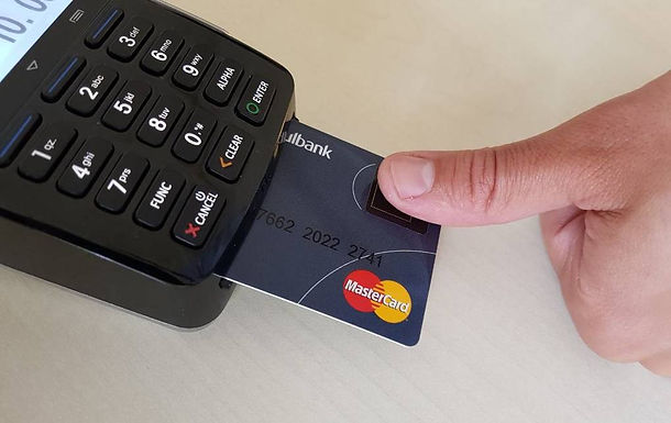 The future of Bank Cards: Fingerprint Scanners!