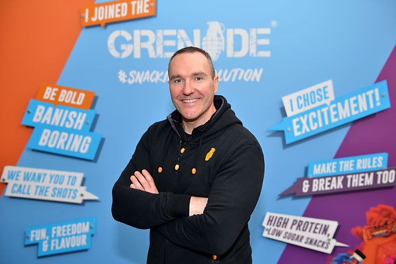 If Only They Knew Alan Barratt, Founder of Grenade