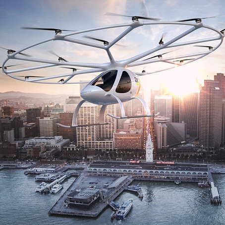 Unmanned taxi drones!