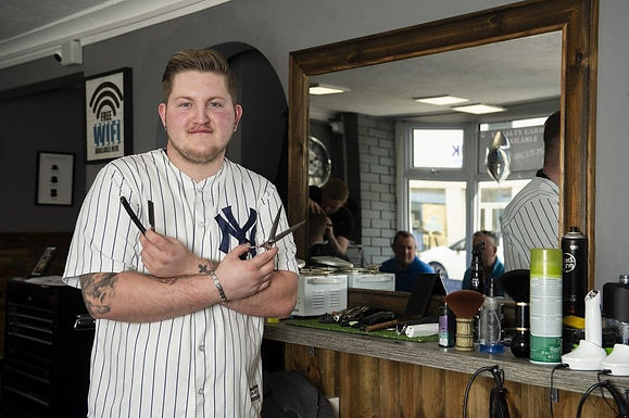 If Only They Knew Jonny Hanford, 21-year-old founder of Jonny Blades