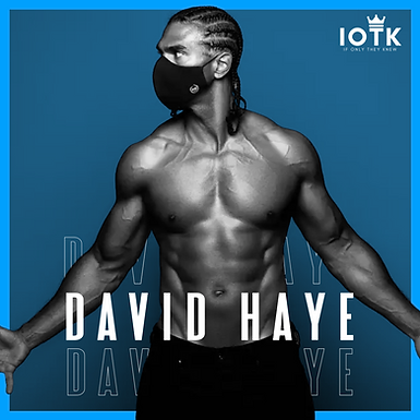 Hayemaker Hygiene: David Haye Launches The Black Mask Company