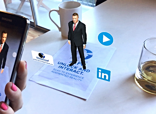 Here's How to Make Crazy Augmented Reality Business Cards