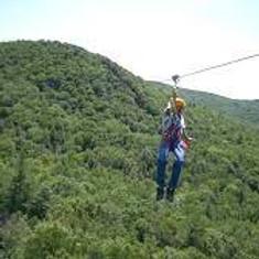 Troop 31 outing -- Ziplining at Berkshire East