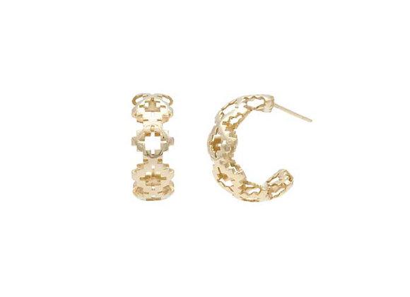Objet Gold Earring