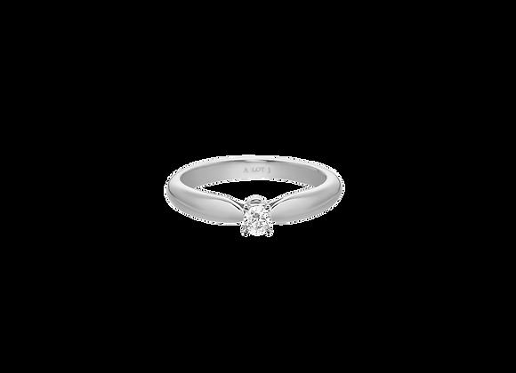 0.1 ct Diamond Ring