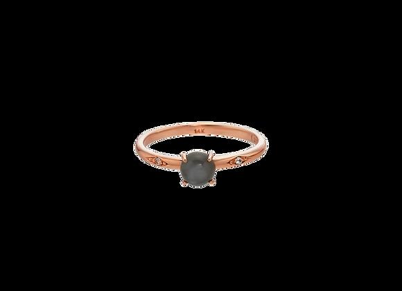 Gray Opal Ring