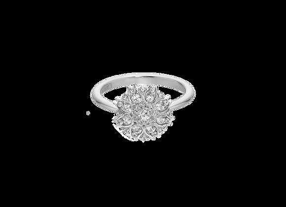 Trina White Ring