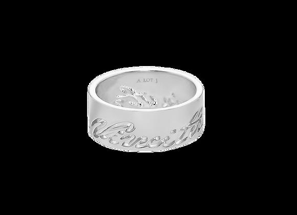 Lettering Ring
