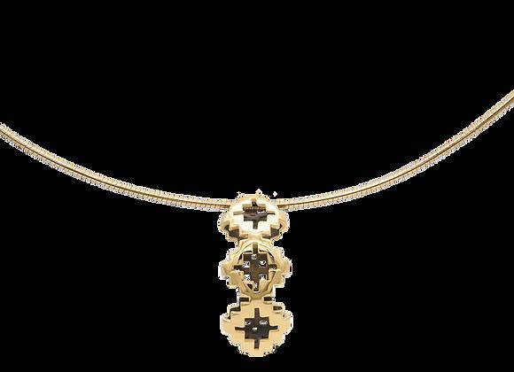 Objet Gold Antique Necklace
