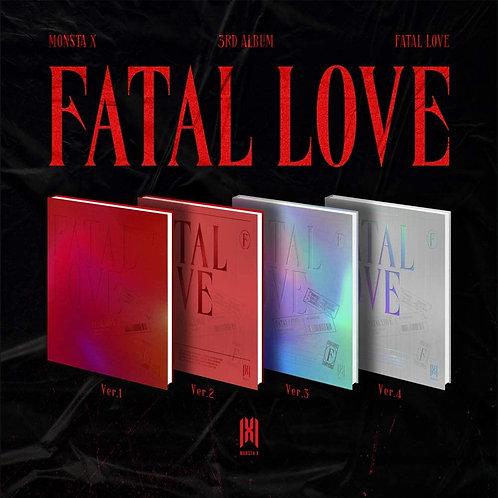 MONSTA X - Fatal Love - Album Vol.3 (4 VERSIONS SET)