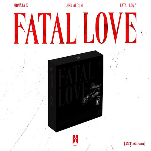 MONSTA X - Fatal Love - Album Vol.3 (KIT)