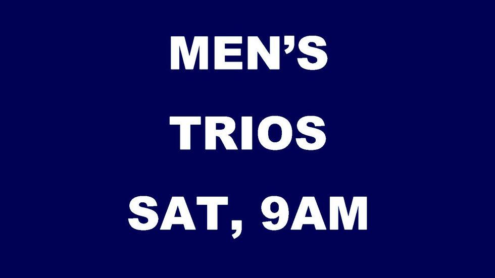 Men's Trios Deposit