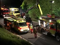 Unfall Walderstrasse