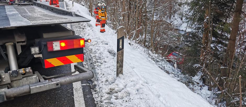 VA: Verkehrsunfall Grundtal