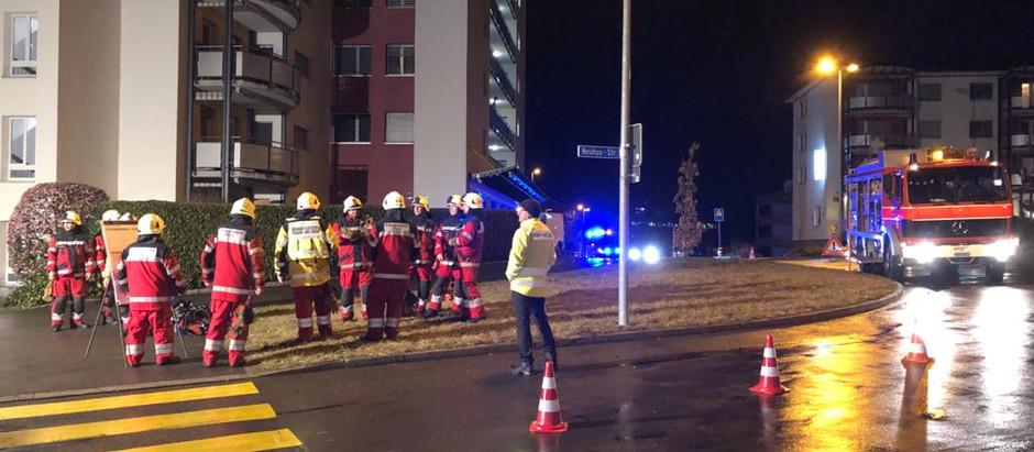 KA 4: Brand im MFH Werkstrasse