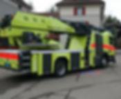 ADL Autodrehleiter Feuerwehr Rüti