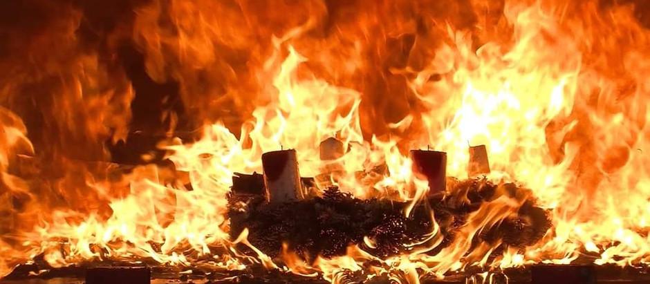Brandgefahr in Advents- und Weihnachtszeit