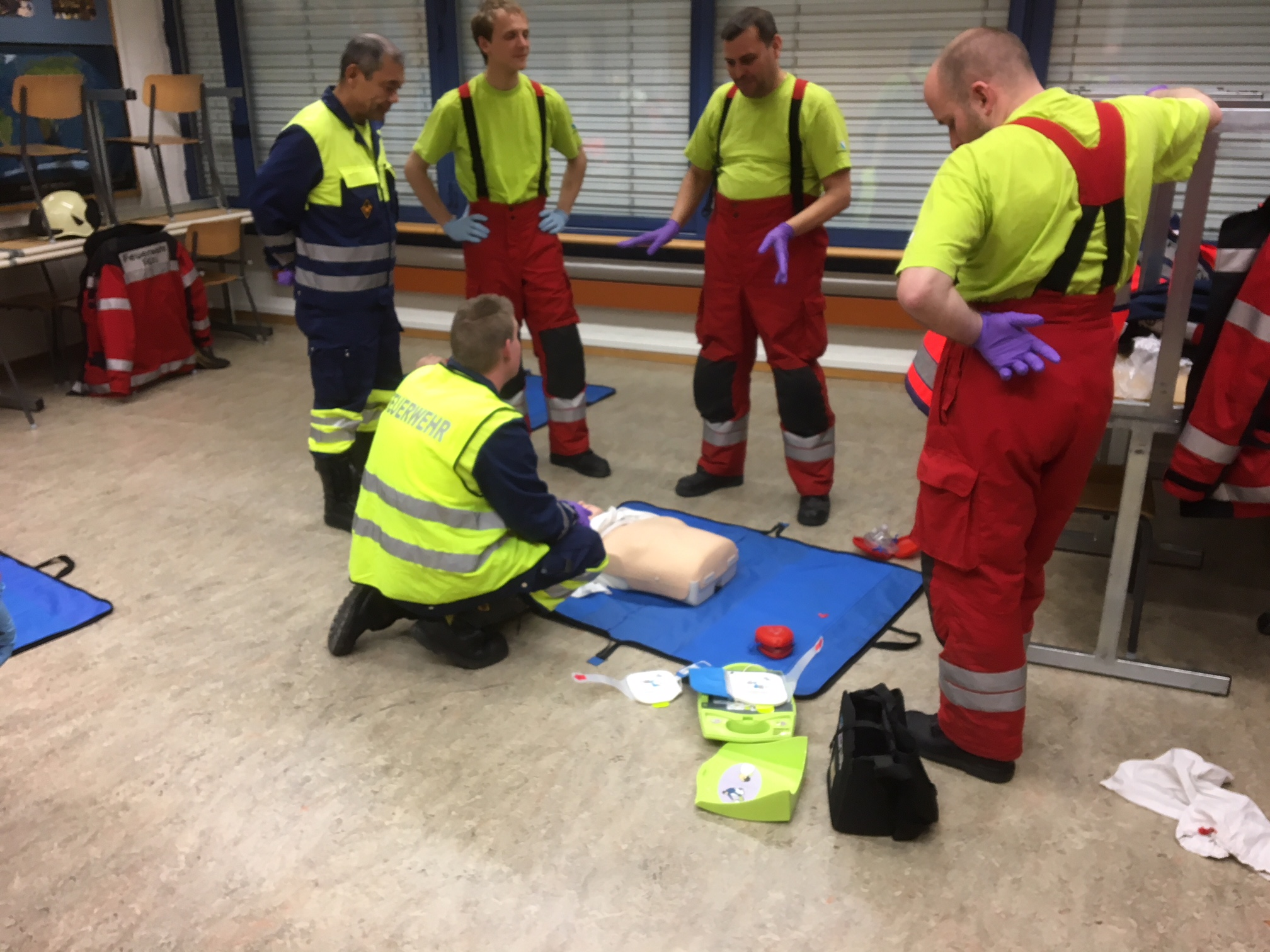Reanimation mit AED