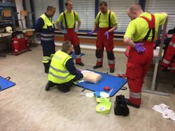 Reanimation mit AED