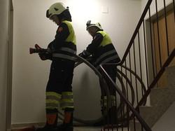 Leitungsbau im Gebäude