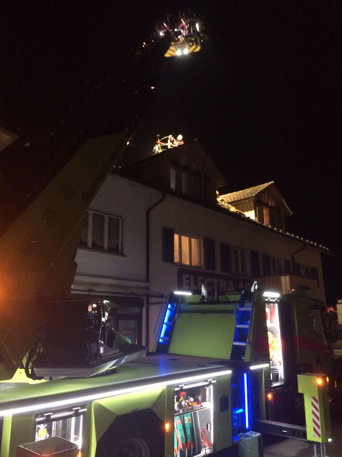 Brand Hauptstrasse Tann