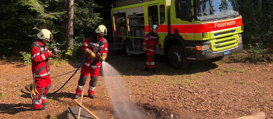KA 3: Waldbrand (Erdfeuer) Bazberg