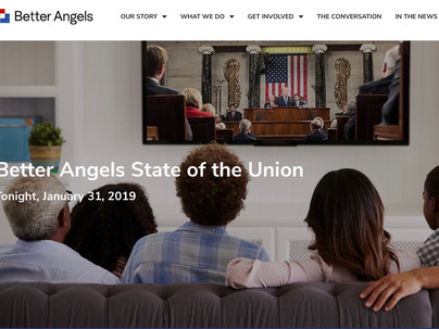 """Better Angels """"State of the Union"""" tonight"""