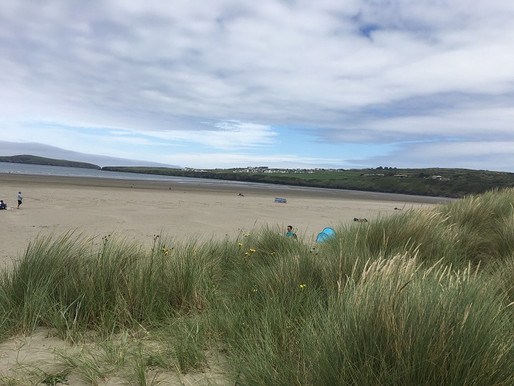 Poppit Sands, Cream Teas and Family Fun