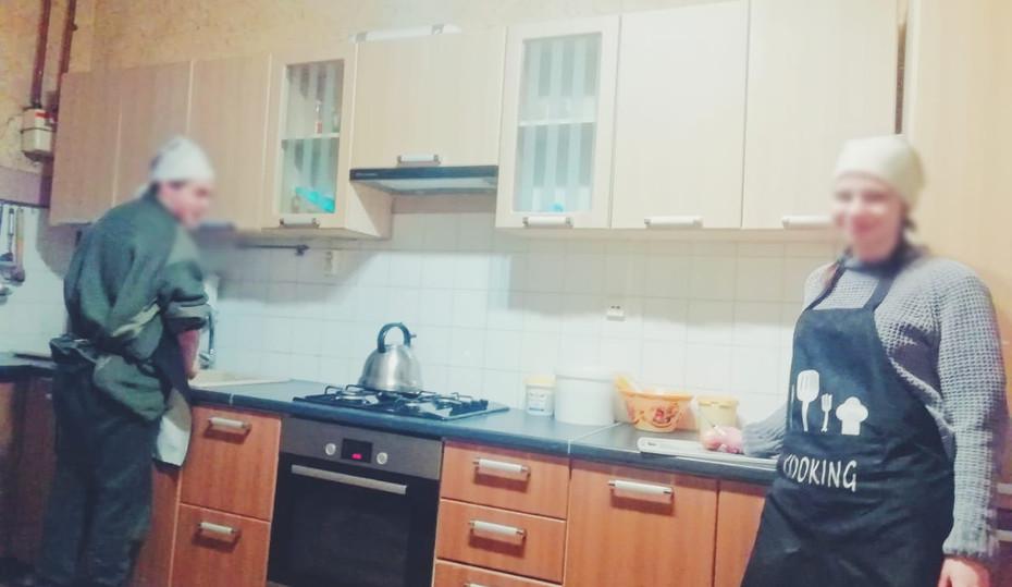 Комфортная кухня.