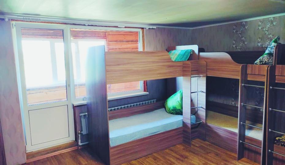 Четырёхместная мужская комната