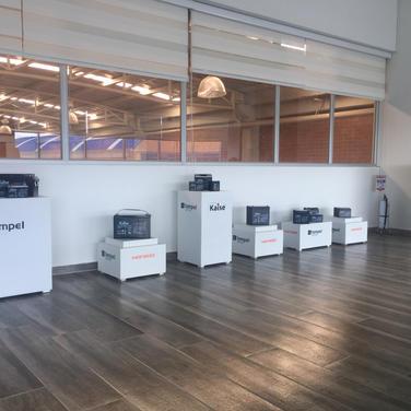 Cubos para Exhibición