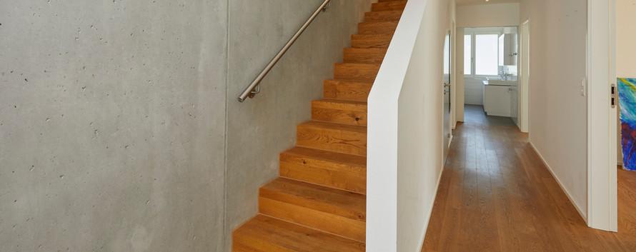 Korridor mit Treppe