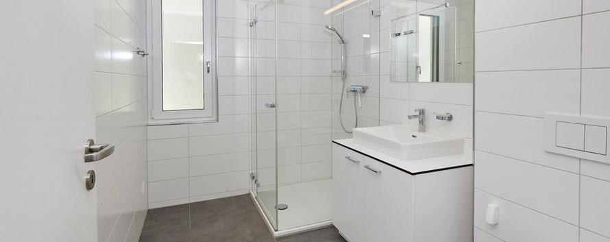 Nasszone mit Dusche