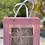 """Thumbnail: GEULAH, GUARANTEED🎵 8"""" Tambourine - Ani Maamin Pink Ribbon & Gift Box"""