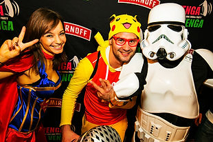 Comic Dance Crew - Storm Trooper und Sup