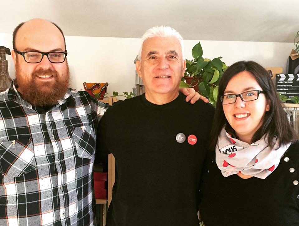 Toni Pinel, Antonio Barrero i Cris Gambín