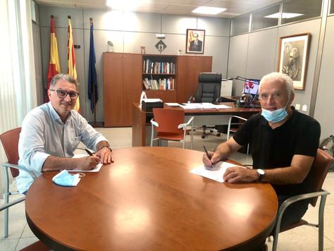 L'Ajuntament de Roda de Berà i el FIC-CAT signen el conveni anual de col·laboració
