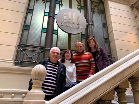 Acord de col·laboració entre el FIC-CAT i els Premis VOC d'Òmnium Cultural