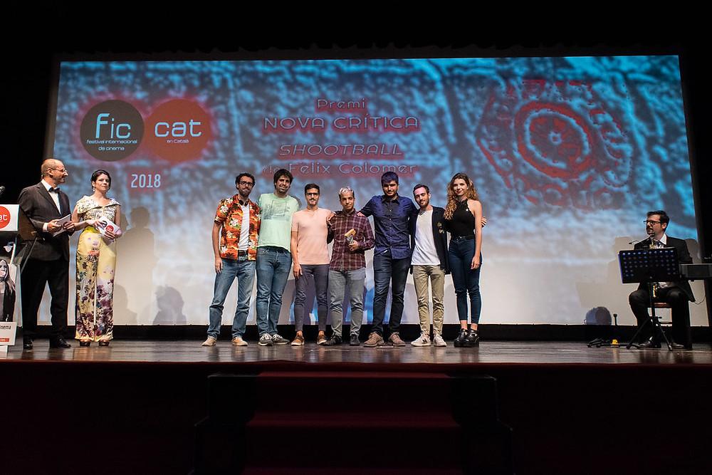 Premi Nova Crítica 2018 al documental 'Shootball' de Fèlix Colomer